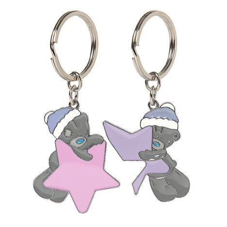 Tatty Teddy Winter Stars 2 Part Me to You Bear Key Rings  £5.99