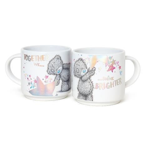 Together We Shine Brighter Stackable Me to You Bear Mugs  £9.99
