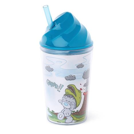 My Dinky Dino Hat Me To You Bear Tumbler With Straw  £4.99