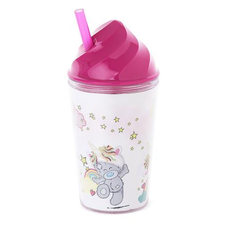 My Dinky Unicorn Hat Me To You Bear Tumbler With Straw  £4.99