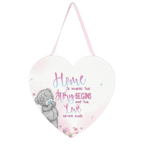 Home Is Where The Story Begins Me to You Bear Plaque  £3.99