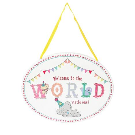 Welcome To The Word Tiny Tatty Teddy Me to You Bear Plaque  £3.99