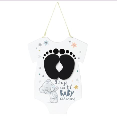 Tiny Tatty Teddy Me to You Bear Baby Countdown Plaque  £3.99