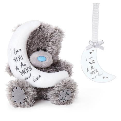 "5"" Love You To The Moon Me to You Bear & Plaque Set  £15.00"
