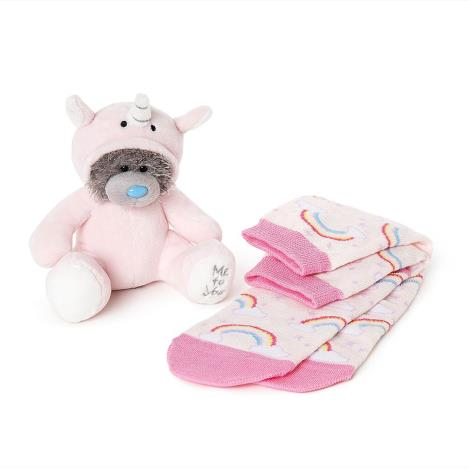 "6"" Dressed As Unicorn Onesie Plush & Socks Me To You Bear Gift Set  £9.99"
