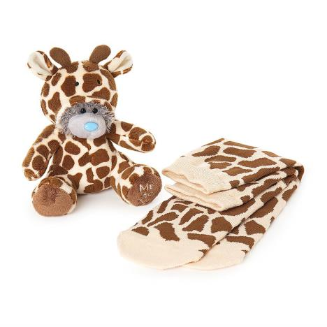 "6"" Dressed As Giraffe Onesie Plush & Socks Me To You Bear Gift Set  £9.99"