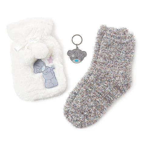 Keyring, Socks & Hot Water Bottle Me to You Bear Gift Set  £20.00