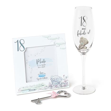 18th Frame, Champagne Glass & Key Me to You Gift Set  £15.00