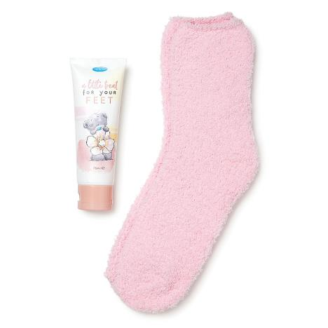 Me to You Bear Bed Socks & Foot Cream Gift Set  £8.99