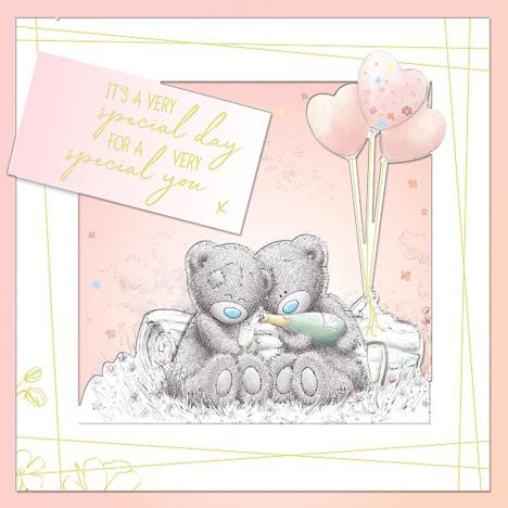 A Very Special Day Handmade Me to You Bear Birthday Card  £3.99