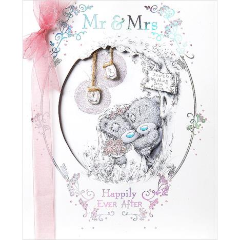Mr & Mrs Handmade Me To You Bear Wedding Day Card  £7.99