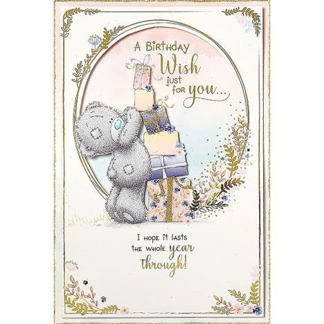 A Birthday Wish Handmade Me to You Bear Birthday Card  £3.59
