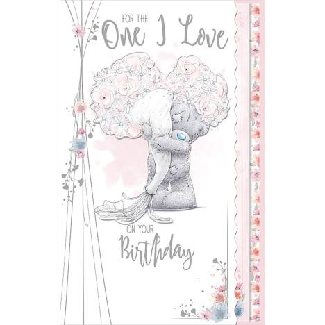 One I Love Luxury Me to You Bear Birthday Card  £4.99