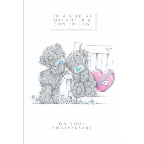 Daughter ∧ Son-In-Law Anniversary Me to You Bear Card  £2.49