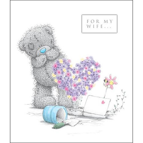 Wife Birthday Me to You Bear Card  £2.49