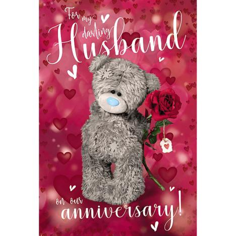 3D Holographic Husband Me to You Bear Anniversary Card  £4.25