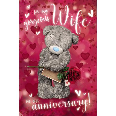 3D Holographic Wife Me to You Bear Anniversary Card  £4.25