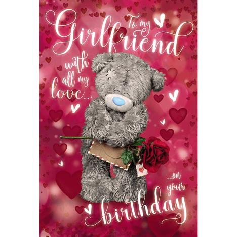 3D Holographic Girlfriend Me to You Bear Birthday Card  £4.25