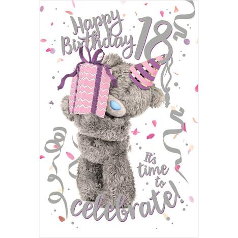 3D Holographic 18th Birthday Me to You Bear Card  £3.39
