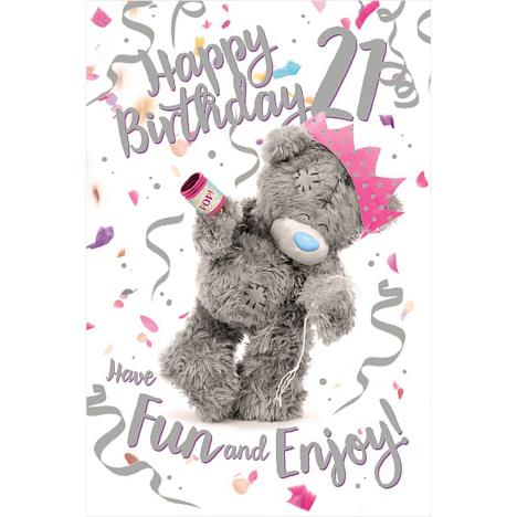 3D Holographic 21st Birthday Me to You Bear Card  £3.39