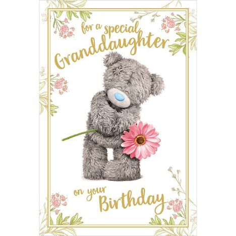 3D Holographic Granddaughter Birthday Me to You Bear Card  £3.39
