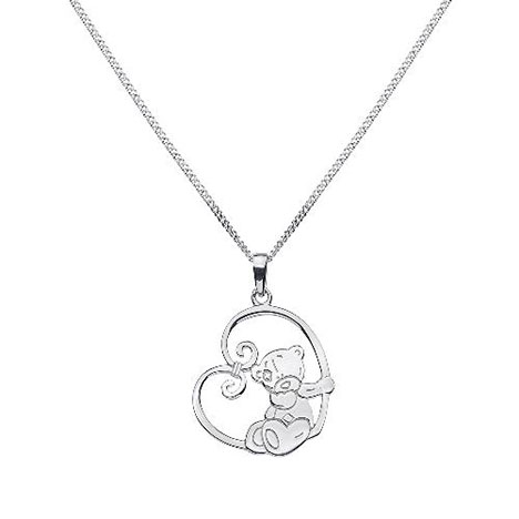Me To You Bear Sterling Silver Swing Pendant Necklace  £17.99