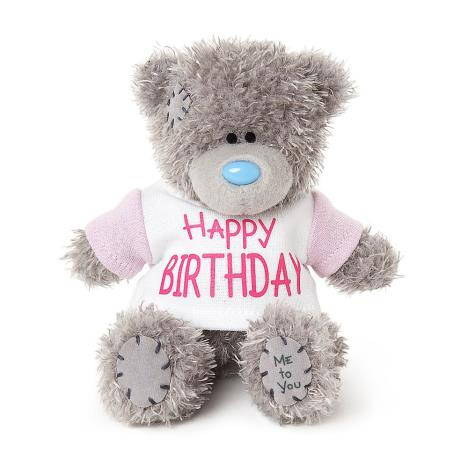 "4"" Happy Birthday T Shirt Me to You Bear  £5.99"