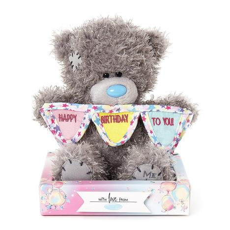"7"" Happy Birthday Bunting Me To You Bear  £9.99"