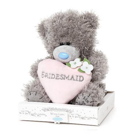 "7"" Bridesmaid Padded Heart Me to You Wedding Bear  £10.00"