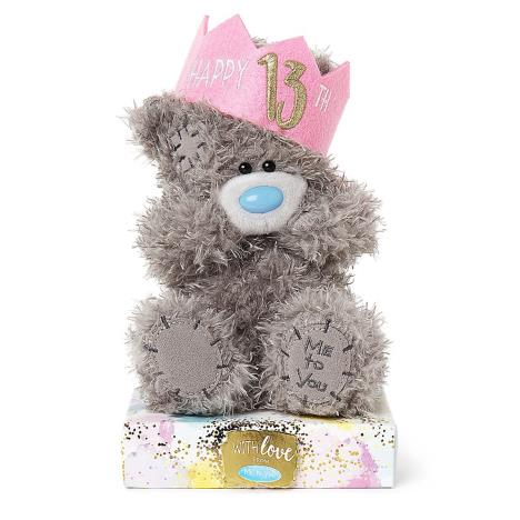 "7"" 13th Birthday Wearing Hat Me to You Bear  £9.99"