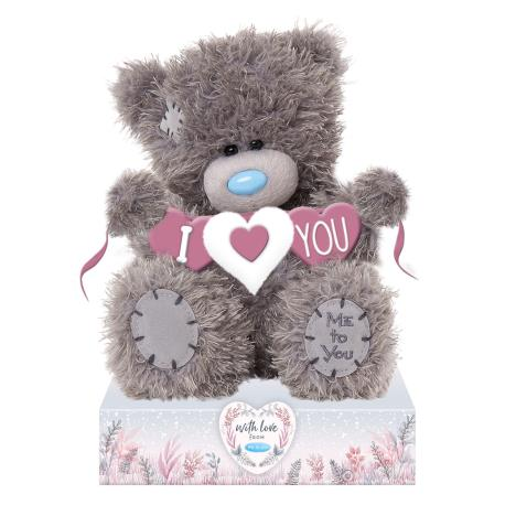 "7"" I Love You Banner Me to You Bear  £9.99"