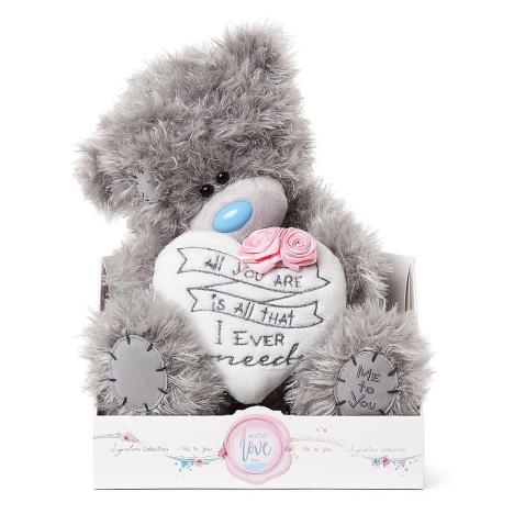 "9"" All You Are Padded Heart Me To You Bear  £19.00"