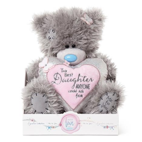 "9"" Daughter Verse Padded Heart Me To You Bear  £19.00"