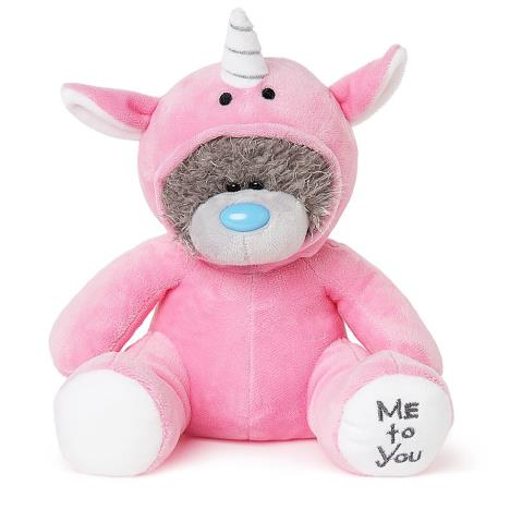 "9"" Hot Pink Unicorn Onesie Me to You Bear  £14.99"