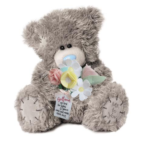 "12"" Girlfriend Flower Bouquet Me to You Bear  £30.00"