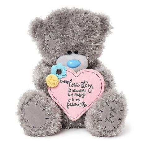 "12"" Love Story Padded Heart Me to You Bear  £30.00"