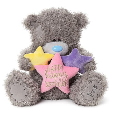 "20"" Happy Happy Birthday Stars Me to You Bear  £39.99"