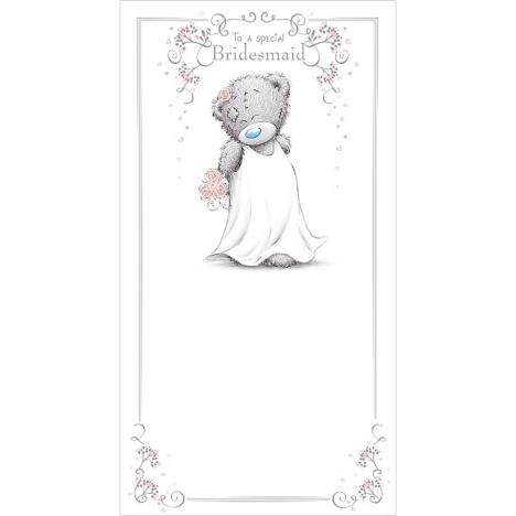 Special Bridesmaid Me To You Bear Wedding Day Card  £2.19