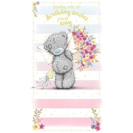 Birthday Wishes Me to You Bear Birthday Card  £2.19
