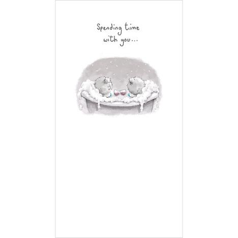 Tatty Teddy In Bath Tub Me To You Bear Card  £2.19