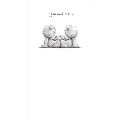 You And Me Me To You Bear Card  £2.19