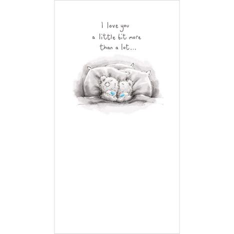 Tatty Teddies In Bed Me To You Bear Card  £2.19