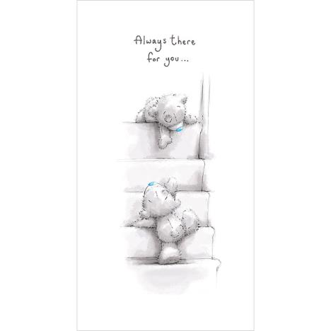 Tatty Teddy Climbing Stairs Me To You Bear Card  £2.19