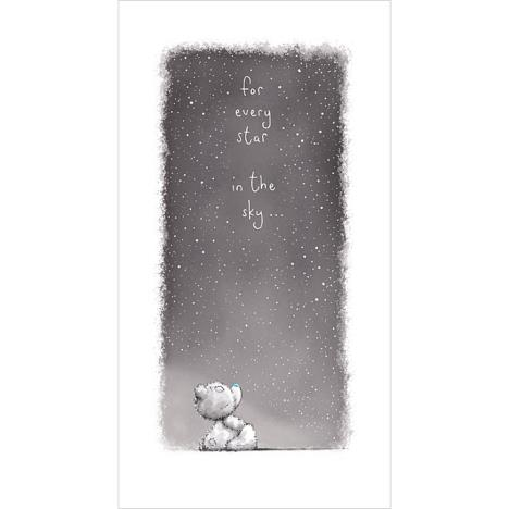 Tatty Teddy Looking To The Stars Me To You Bear Card  £2.19