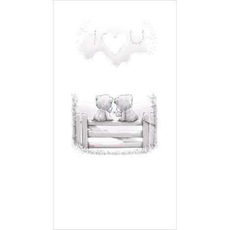 Tatty Teddy Sitting on Gate Me To You Bear Card  £2.19