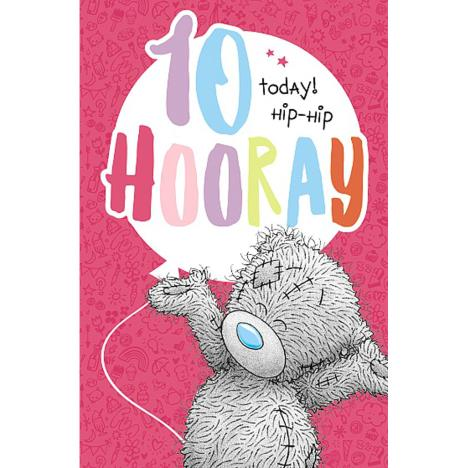 10 Today Hooray Me to You Bear Birthday Card  £1.89