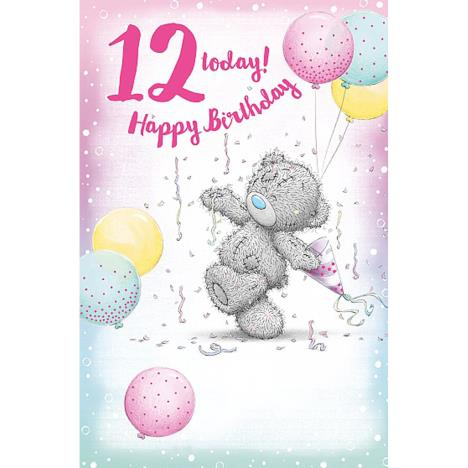 12 Today Me to You Bear 12th Birthday Card  £1.89