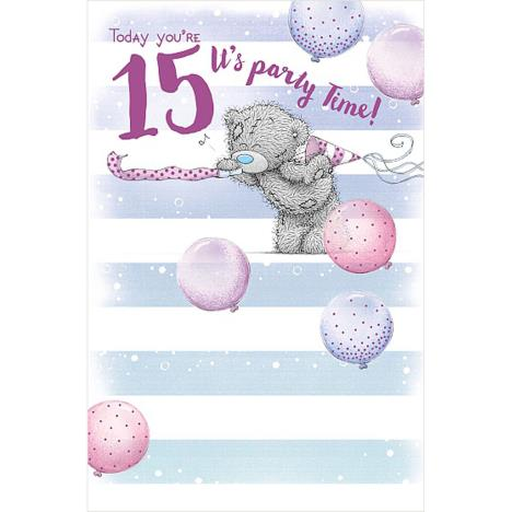 15th Birthday Me To You Bear Birthday Card  £1.89