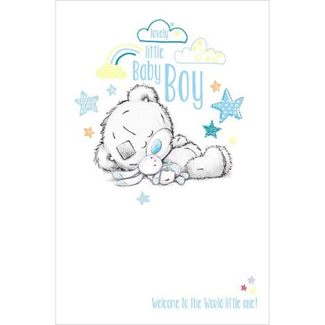 New Little Baby Boy Me to You Bear Card  £1.89