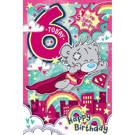 My Dinky 6 Today Me to You Bear 6th Birthday Card  £1.89